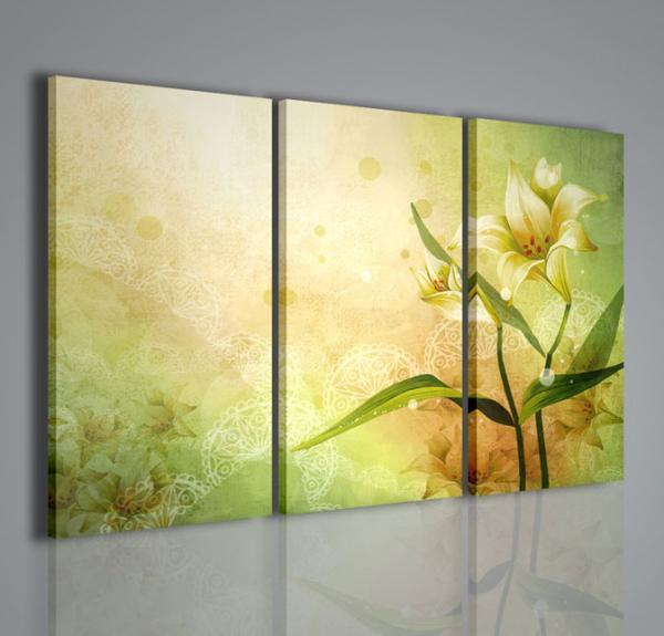 Quadri Moderni-Quadri di Fiori e Piante-Vector flower | QUADRI ...